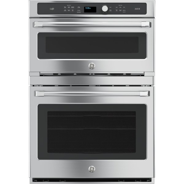 Ge Cafe Series Advantium Convection Double Electric Wall Oven Stainless Steel Common 30