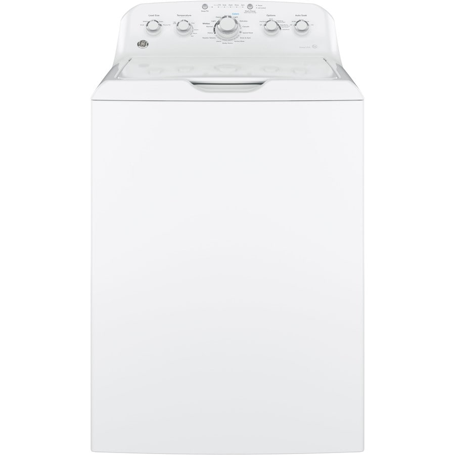 hight resolution of ge 4 2 cu ft high efficiency top load washer white