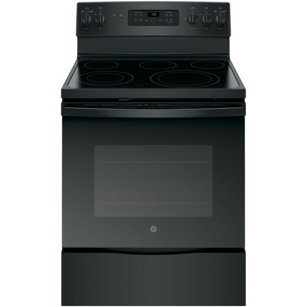Ge Smooth Surface Freestanding 5-element 5.3-cu Ft
