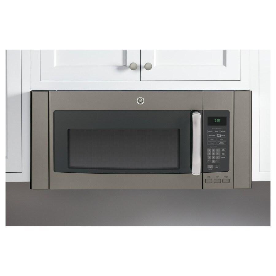 ge over the range microwave filler kit slate