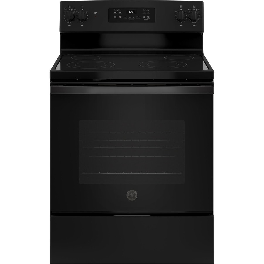 GE Smooth Surface 53cu ft SelfCleaning Freestanding