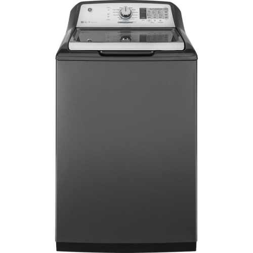 small resolution of ge 5 cu ft high efficiency top load washer gray energy star