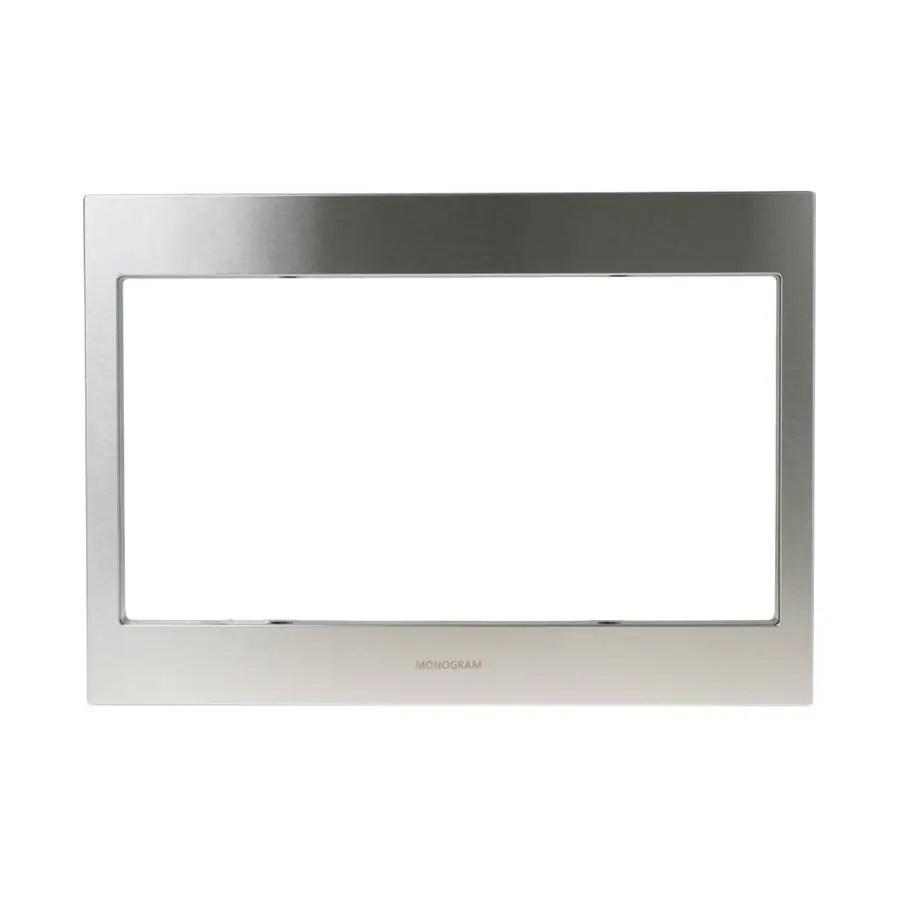 monogram countertop microwave mounting kit stainless steel