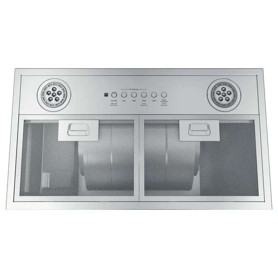 ge 30 in convertible stainless steel undercabinet range hood insert