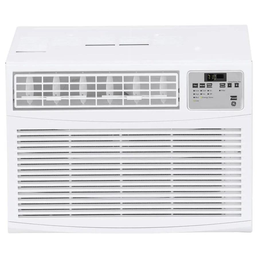 medium resolution of ge 550 sq ft window air conditioner 115 volt 11600 btu energy star