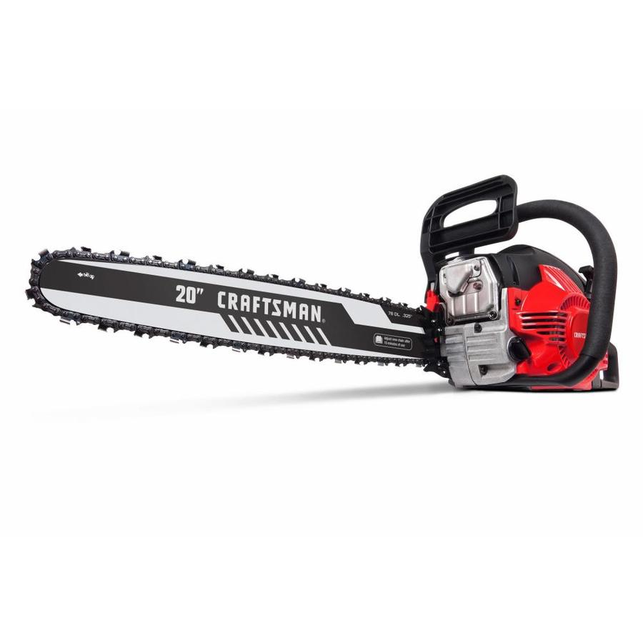 hight resolution of craftsman 46 cc 2 cycle 20 in gas chainsaw