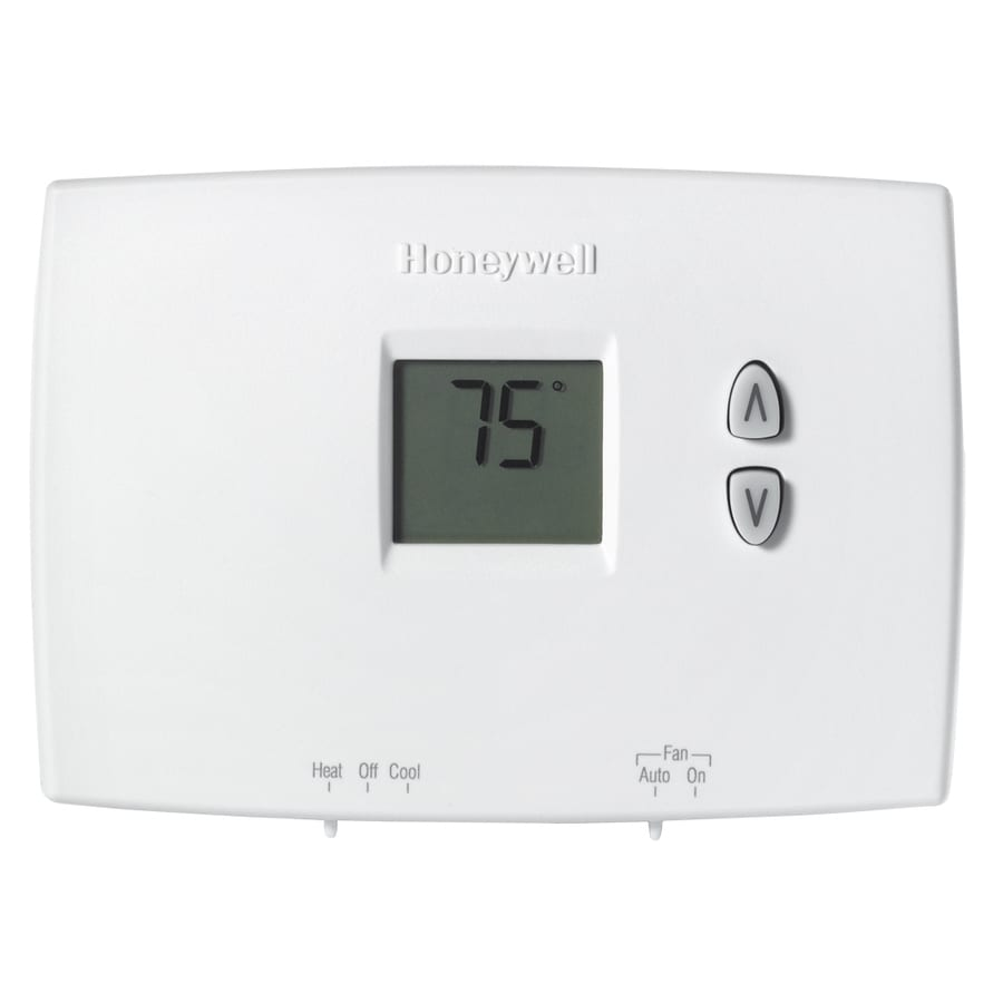 medium resolution of honeywell electronic non programmable thermostat