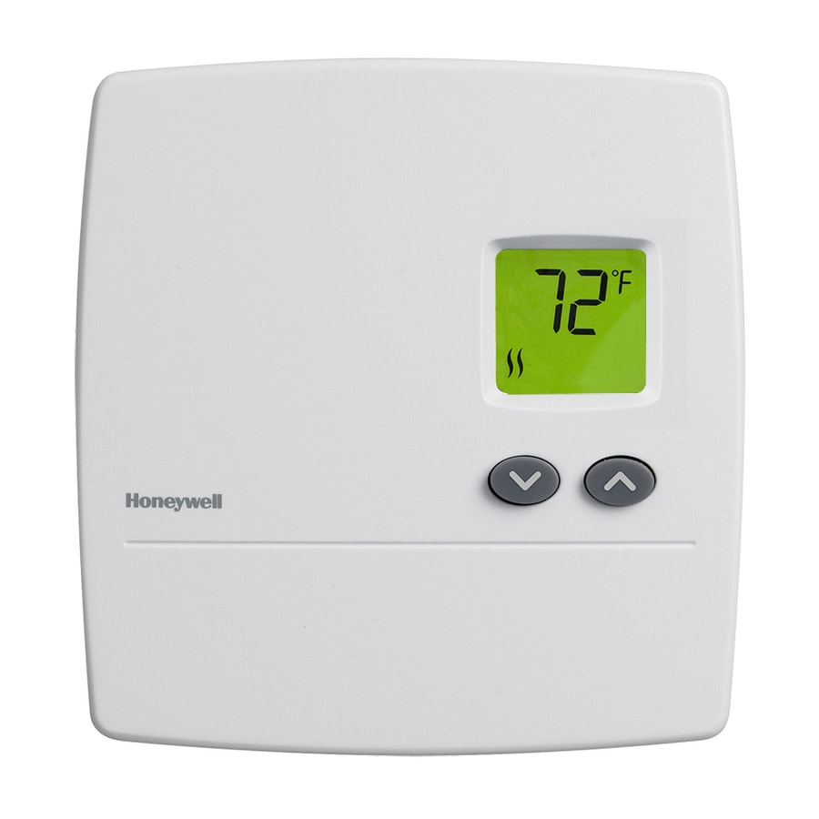 hight resolution of honeywell electronic non programmable thermostat