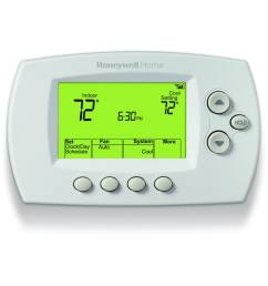honeywell wi fi 7 day programmable thermostat with built in wifi [ 900 x 900 Pixel ]