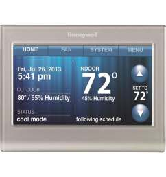 honeywell wi fi smart thermostat with built in wifi [ 900 x 900 Pixel ]