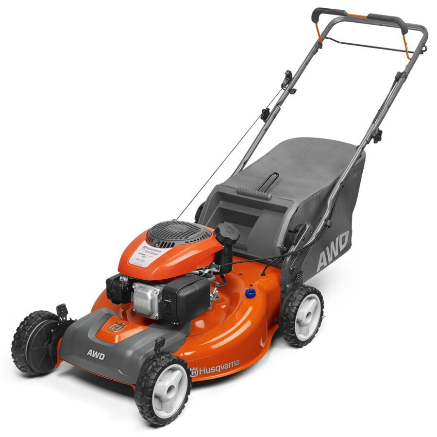 medium resolution of husqvarna hu675awdca 149 cc 22 in self propelled gas lawn mower with kohler engine