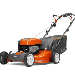 husqvarna hu725awd 190 cc 22 in self propelled gas lawn mower with briggs stratton engine [ 900 x 900 Pixel ]