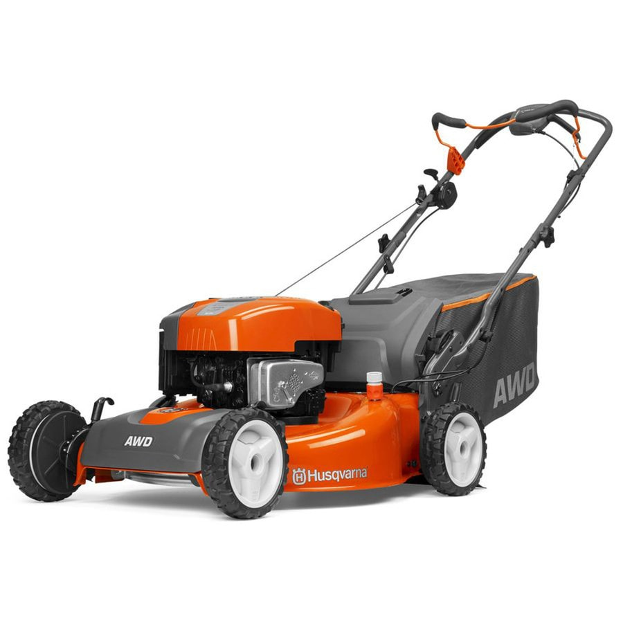 medium resolution of husqvarna hu725awd 190 cc 22 in self propelled gas lawn mower with briggs stratton engine