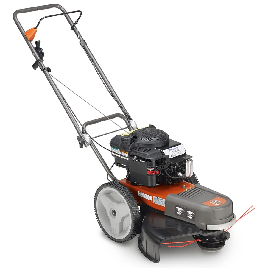 medium resolution of husqvarna 190 cc 22 in walk behind string trimmer mower