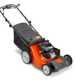 husqvarna lc221rh 160 cc 21 in self propelled gas lawn mower with honda [ 900 x 900 Pixel ]