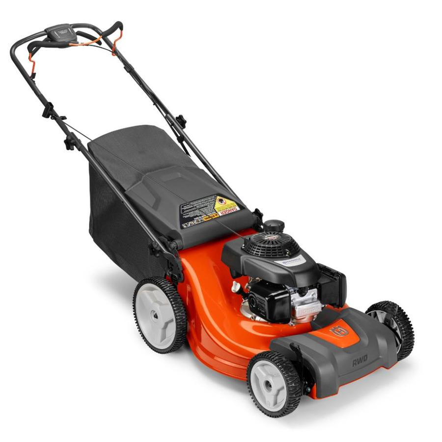 medium resolution of husqvarna lc221rh 160 cc 21 in self propelled gas lawn mower with honda