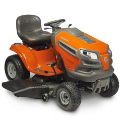husqvarna yth22v46 22 hp v twin hydrostatic 46 in riding lawn mower with [ 900 x 900 Pixel ]