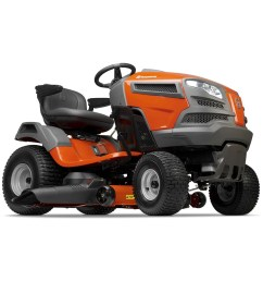 husqvarna yth24v48 24 hp v twin hydrostatic 48 in riding lawn mower with [ 900 x 900 Pixel ]