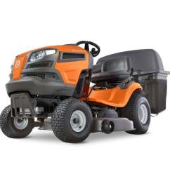husqvarna yta22v46 22 hp v twin automatic 46 in riding lawn mower with mulching capability kit sold separately  [ 900 x 900 Pixel ]