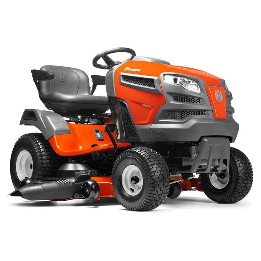 medium resolution of husqvarna yta24v48 24 hp v twin automatic 48 in riding lawn mower with