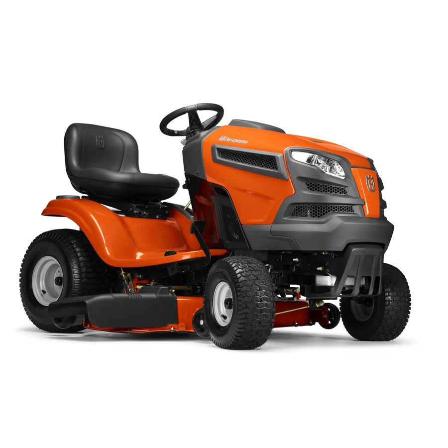 hight resolution of husqvarna yth22v46 22 hp v twin hydrostatic 46 in riding lawn mower with