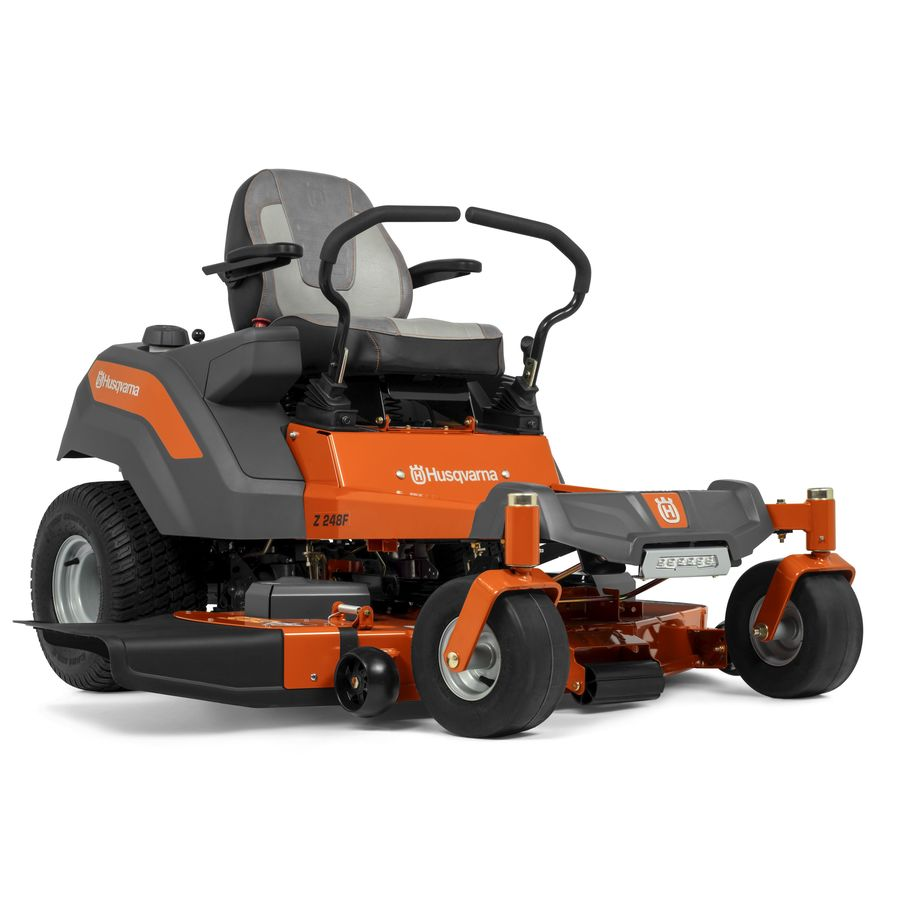 medium resolution of husqvarna z248f 26 hp v twin dual hydrostatic 48 in zero turn lawn mower with mulching capability kit sold separately