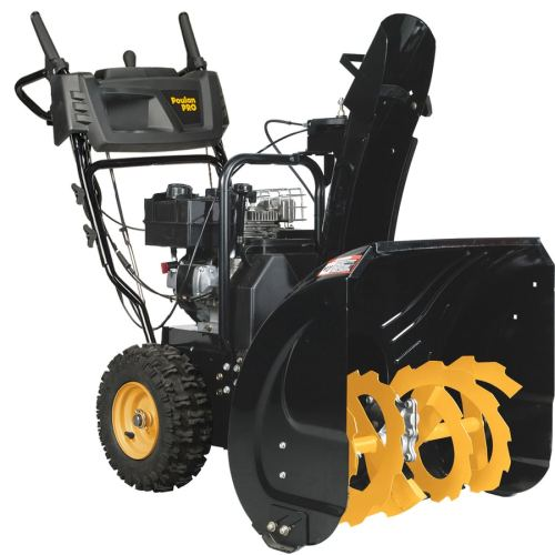 small resolution of poulan pro 24 in two stage gas snow blower self propelled
