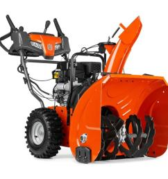 husqvarna st 224 24 in two stage gas snow blower self propelled [ 900 x 900 Pixel ]