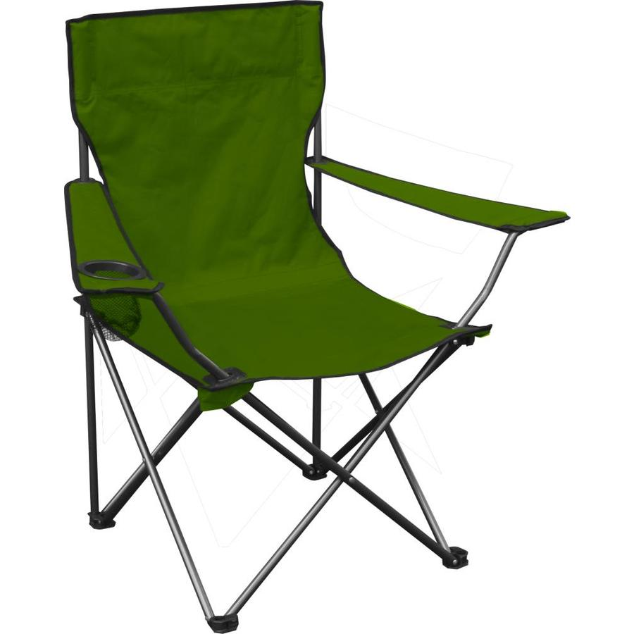 lowes camping chairs cheap patio chair cushions quik shade green folding at com