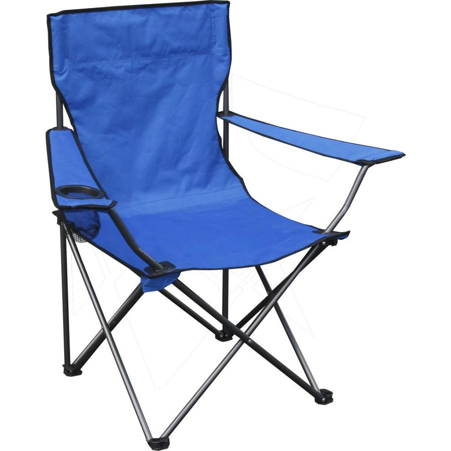 Quik Shade Blue Folding Camping Chair at Lowescom