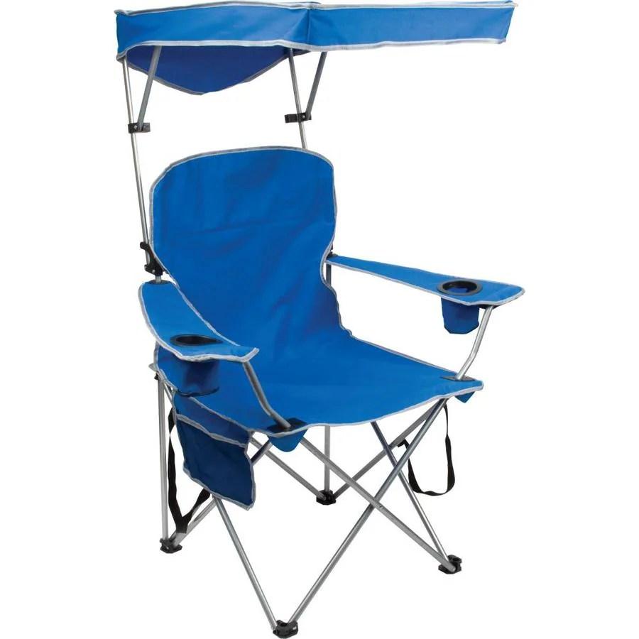 Quik Shade Royal Blue Folding Camping Chair at Lowescom