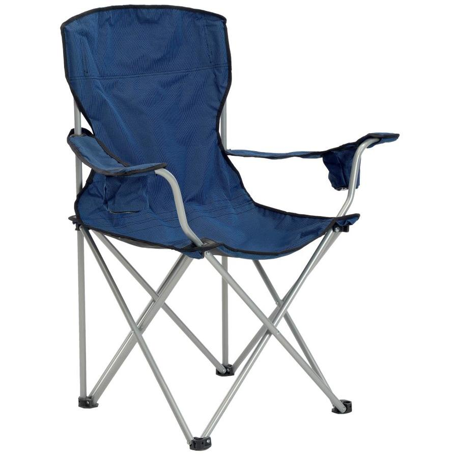 Quik Shade Navy And Black Folding Camping Chair at Lowescom