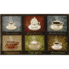Kitchen Throw Rugs Washable Best Sink Brands Coffee Rug – Home Decor