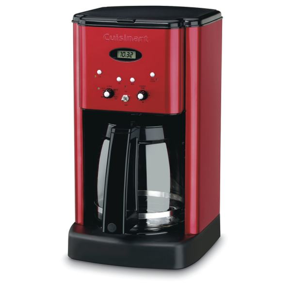 Cuisinart 12-cup Red Programmable Coffee Maker