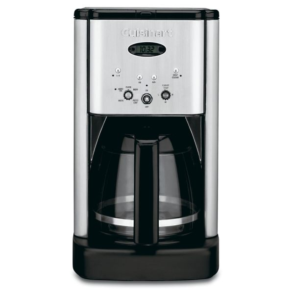 Cuisinart 12-cup Stainless Steel Programmable Coffee Maker
