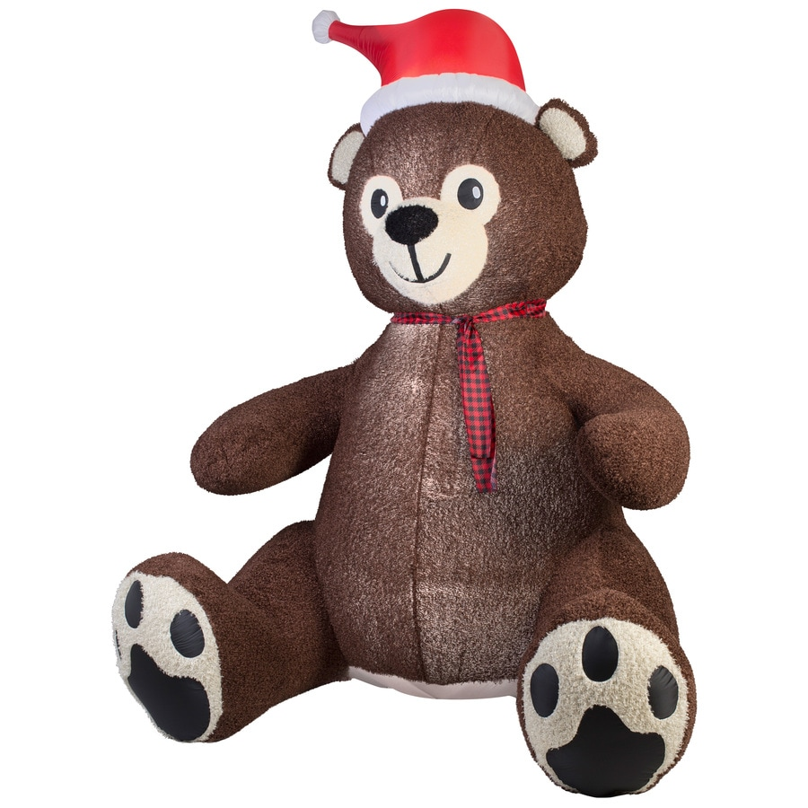 Shop Holiday Living 895 Ft X 459 Ft Lighted Teddy Bear