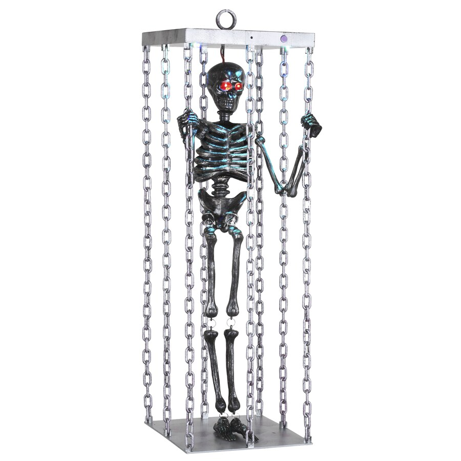 Gemmy 38.189-in Lighted Musical Animatronic Hanging Caged