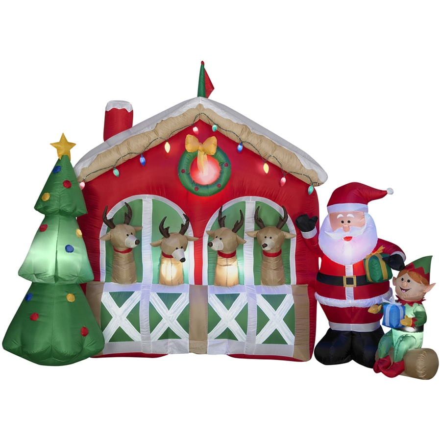 Home Depot Inflatable Outdoor Christmas Decorations