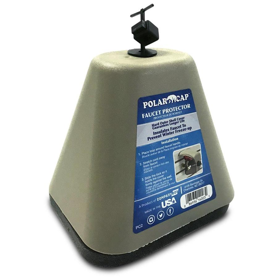 outdoor faucet covers freeze caps at