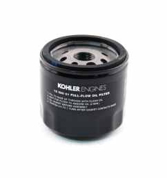 kohler oil filter for courage engine [ 900 x 900 Pixel ]