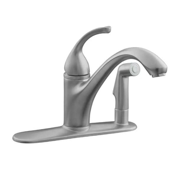 Kohler Brushed Bronze Kitchen Faucet