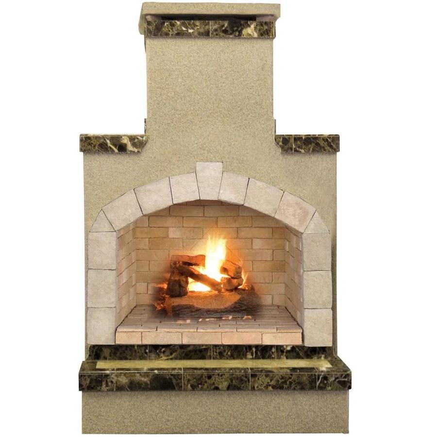 Cal Flame 55000BTU Brown Composite Outdoor Liquid