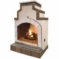 Shop Cal Flame 55,000-BTU Tan Composite Outdoor Liquid ...