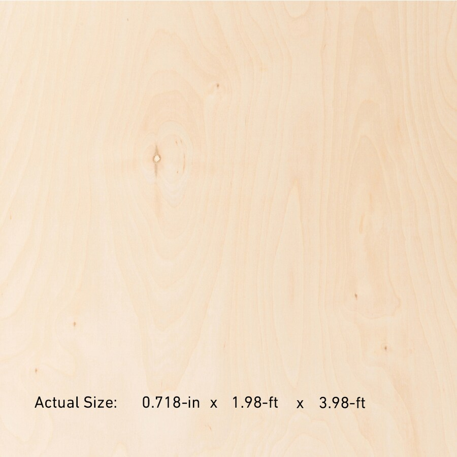 3 4 Inch Plywood Actual Thickness