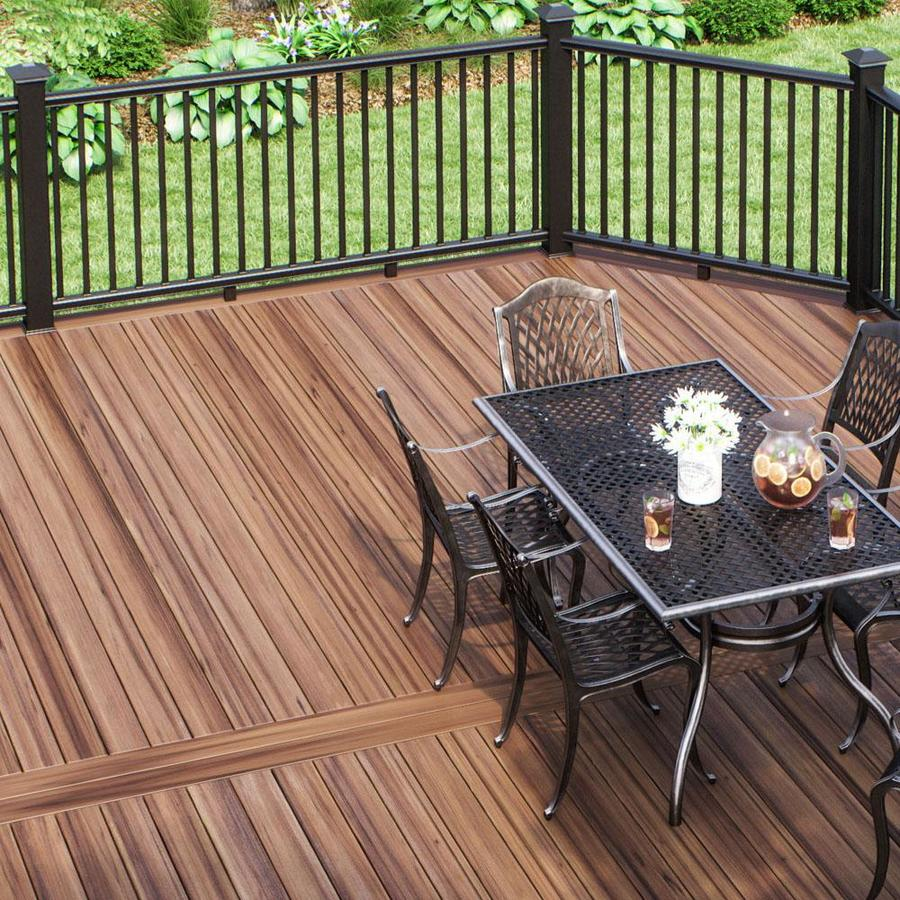 aluminum deck rail kit with balusters