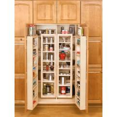 Lowes Kitchen Pantry Cotton Rugs Rev A Shelf 57 In Wood Swing Out Kit At Com