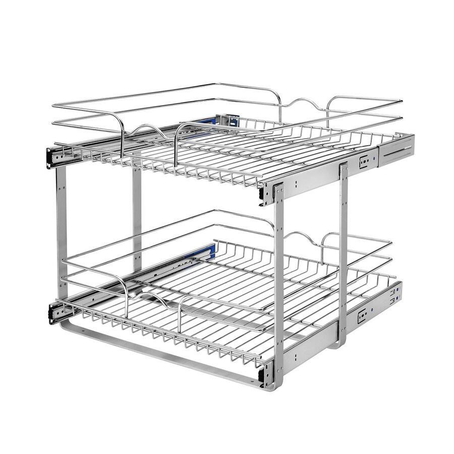 Shop Rev-A-Shelf 20.75-in W x 19-in H Metal 2-Tier Pull