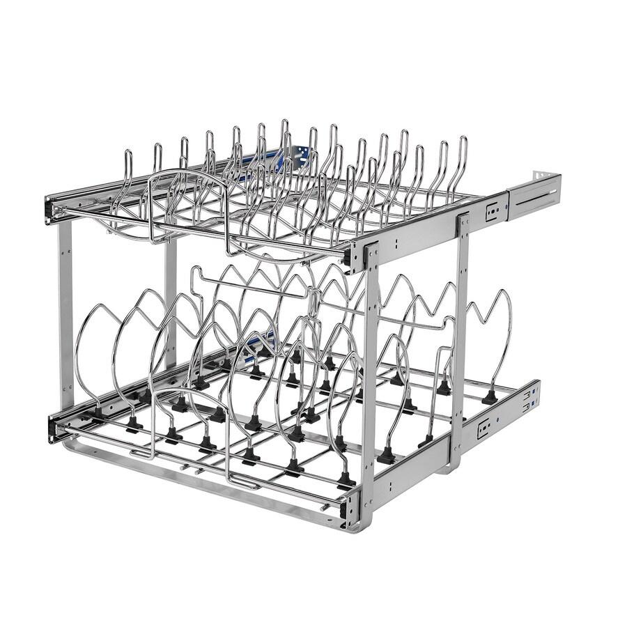 Shop Rev-A-Shelf 20.75-in W x 18.12-in 2-Tier Metal