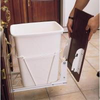 Shop Rev-A-Shelf Plastic Pull Out Trash Can at Lowes.com