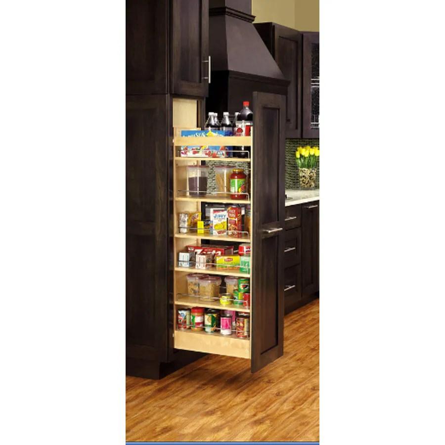 Shop Rev A Shelf 14 In W X 5931 In 1 Tier Wood Cabinet